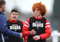 Bristol Bears Academy players warm up-Mandatory by-line: Nizaam Jones/JMP- 05/01/2019 - RUGBY - North Bristol RFC - Bristol, England - Bristol Academy U18 v Exeter Chiefs U18-U18 Academy League