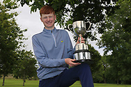Robert Walsh JNR (Kinsale) winner of the Connacht Boys Amateur Championship, Oughterard Golf Club, Oughterard, Co. Galway, Ireland. 05/07/2019<br /> Picture: Golffile | Fran Caffrey<br /> <br /> <br /> All photo usage must carry mandatory copyright credit (© Golffile | Fran Caffrey)