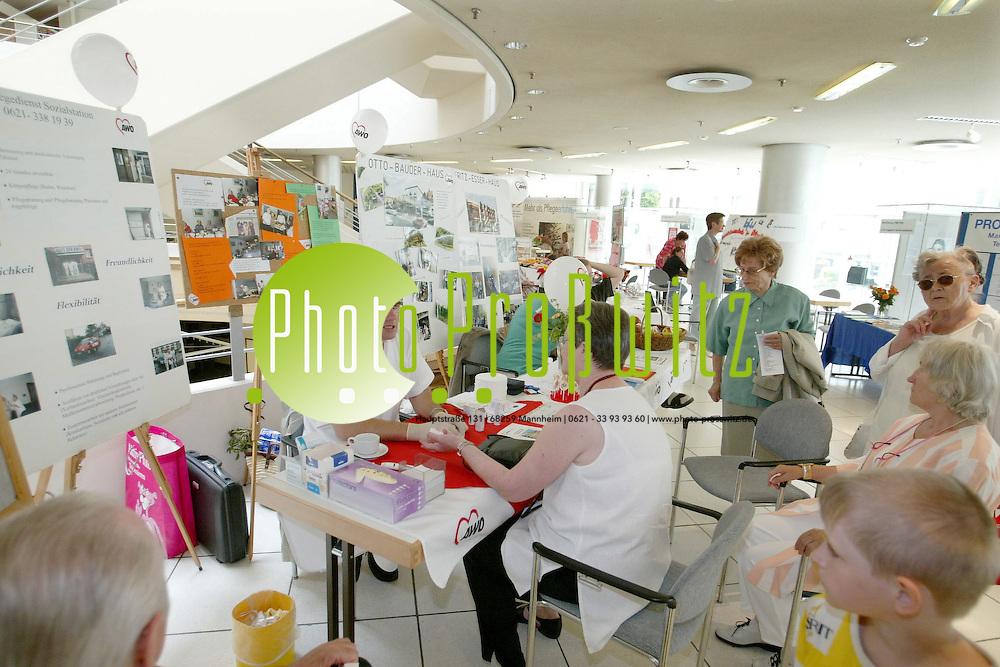 Mannheim. Stadthaus. Informationstag f&uuml;r &auml;ltere Menschen<br /> <br /> Bild: Pro&szlig;witz