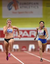 07-03-2015 CZE: European Athletics Indoor Championships, Prague<br /> Dafne Schippers NED, Irene Ekellund SWE