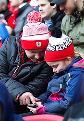 Spectators at the Sky Bet Championship match between Bristol City and Burton Albion - Mandatory by-line: Paul Knight/JMP - 04/03/2017 - FOOTBALL - Ashton Gate - Bristol, England - Bristol City v Burton Albion - Sky Bet Championship