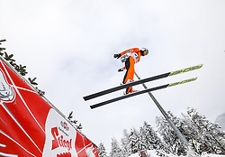 16.12.2017, Nordische Arena, Ramsau, AUT, FIS Weltcup Nordische Kombination, Skisprung, im Bild Takehiro Watanabe (JPN) // Takehiro Watanabe of Japan during Skijumping Competition of FIS Nordic Combined World Cup, at the Nordic Arena in Ramsau, Austria on 2017/12/16. EXPA Pictures © 2017, PhotoCredit: EXPA/ Martin Huber