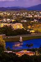 Overview of Noumea from One Taro Hill (looking toward the Hippodrome Henri Millard horse racing track), Noumea,  Grand Terre, New Caledonia