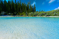 Natural swimming pool, Oro Bay, near the Le Meridien Isle of Pines (Ile des Pins), New Caledonia