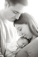 Baby Raelyn  :: April 3, 2014 :: Marshfield, Wisconsin Newborn Photography