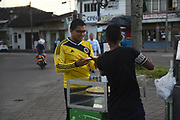 VILLAVINCENCIO, COLOMBIA 05 SEPT 2017: Scenes from around the city of Villlavincencio where Pope Francis will visit on September 8, 2017.