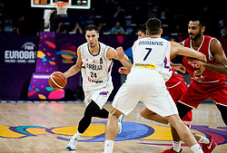 Stefan Jovic of Serbia during basketball match between National Teams of Serbia and Hungary at Day 11 in Round of 16 of the FIBA EuroBasket 2017 at Sinan Erdem Dome in Istanbul, Turkey on September 10, 2017. Photo by Vid Ponikvar / Sportida