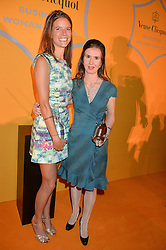 Left to right, EMILY BROOKE winner of the Veuve Clicquot New Generation Award and KATHERINE GARRETT-COX winner of the Veuve Clicquot Business Woman of The Year at the Veuve Clicquot Business Woman Awards held at Claridge's, Brook Street, London on 11th May 2015.