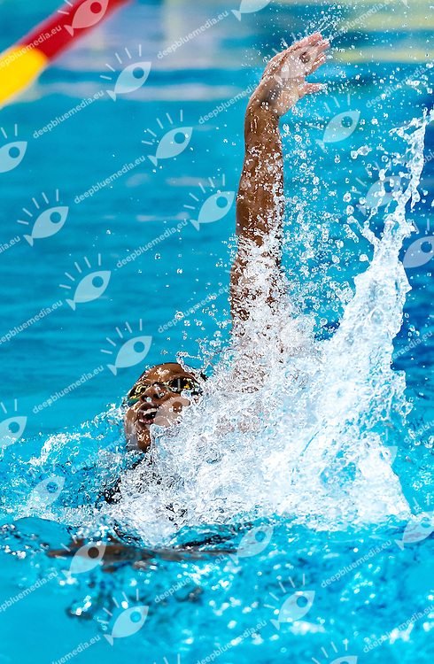 Alia ATKINSON JAM<br /> 100 Individual Medley women<br /> FINA Mastbank Swimming World Cup 2014<br /> Dubai, UAE  2014  Aug.31 th - Sept.1st<br /> Day1 - Sept. 1st - Heats<br /> Photo G. Scala/Deepbluemedia