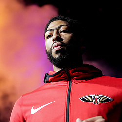 Oct 19, 2018; New Orleans, LA, USA; New Orleans Pelicans forward Anthony Davis against the Sacramento Kings at the Smoothie King Center. The Pelicans defeated the Kings 149-129. Mandatory Credit: Derick E. Hingle-USA TODAY Sports