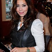 NLD/Amsterdam/20111208- Sky Radio Christmas tree for Charity, Marielle Bastiaansen