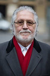 Dave Lee Travis arriving at Southwark Crown Court for his hearing, Southwark Crown Court, London, United Kingdom. Friday, 28th March 2014. Picture by Daniel Leal-Olivas / i-Images