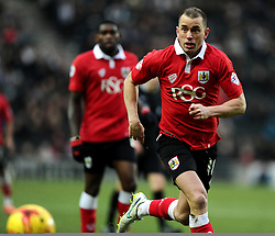 Bristol City's Aaron Wilbraham  - Photo mandatory by-line: Joe Meredith/JMP - Mobile: 07966 386802 - 07/02/2015 - SPORT - Football - Milton Keynes - Stadium MK - MK Dons v Bristol City - Sky Bet League One