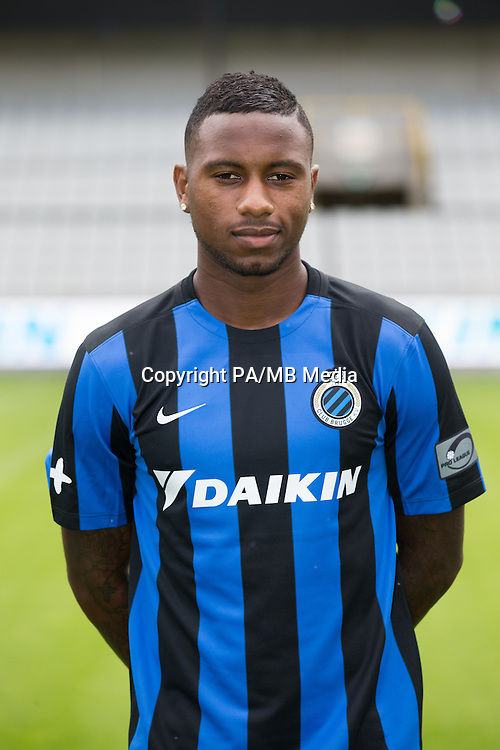 Club's Stefano Denswil poses for the photographer during the 2015-2016 season photo shoot of Belgian first league soccer team Club Brugge, Friday 17 July 2015 in Brugge