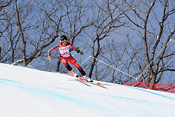 LATIMER Erin LW6/8-2 CAN competing in the Para Alpine Skiing Downhill at the PyeongChang2018 Winter Paralympic Games, South Korea