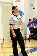1.10.2014, Loimaan liikuntahalli, Loimaa.<br /> Korisliiga 2014-15, Nilan Bisons, Loimaa - Kouvot.<br /> Erotuomari Karolina Andersson