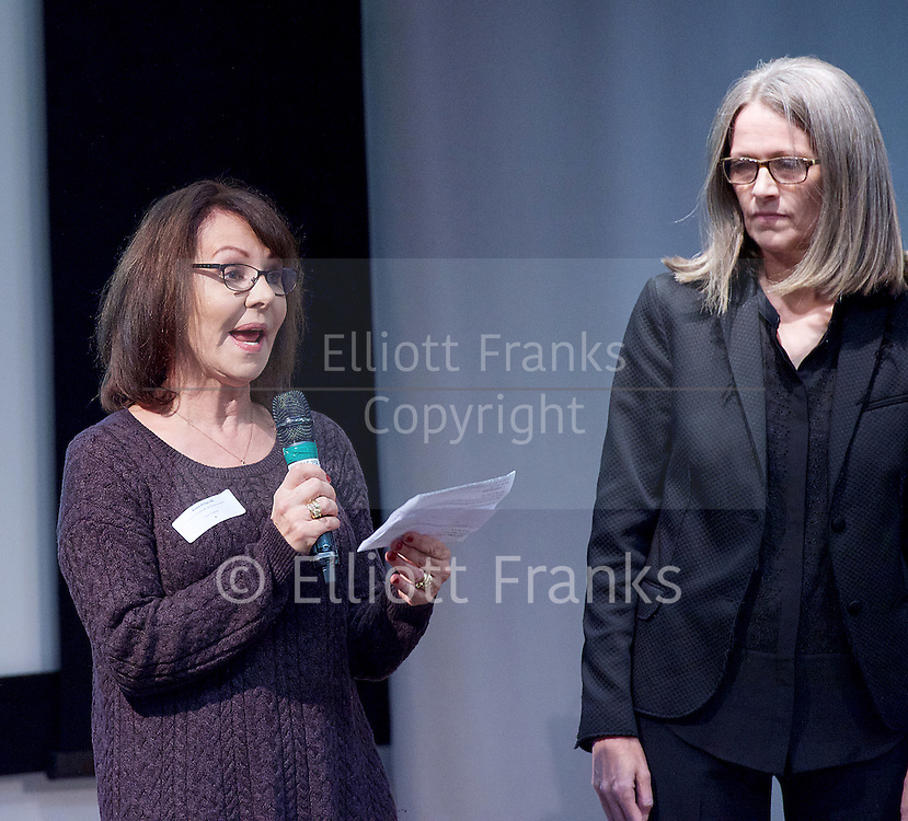 New national dance industry body launched and name announced - One Dance UK<br /> at the Royal Society of Medicine, London, Great Britain <br /> 7th December 2015 <br /> <br /> Arlene Phillips CBE<br /> Patron <br /> <br /> <br /> Photograph by Elliott Franks <br /> Image licensed to Elliott Franks Photography Services