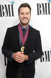 Nov. 13, 2018 - Nashville, Tennessee; USA - Musician LUKE BRYAN  attends the 66th Annual BMI Country Awards at BMI Building located in Nashville.   Copyright 2018 Jason Moore. (Credit Image: © Jason Moore/ZUMA Wire)