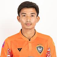THAILAND - JUNE 25: Kittikon Pungkhuntod #24 of Nakhonratchasrima Mazda FC on June 25, 2019.<br /> .<br /> .<br /> .<br /> (Photo by: Naratip Golf Srisupab/SEALs Sports Images/MB Media Solutions)