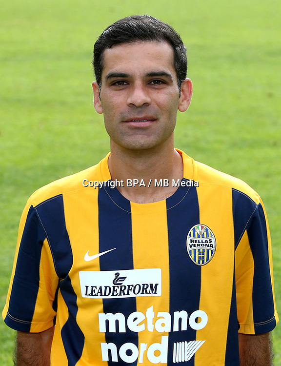 Italian League Serie A -2015-2016 / <br /> ( Hellas Verona FC ) - <br /> Rafael Marquez Alvarez