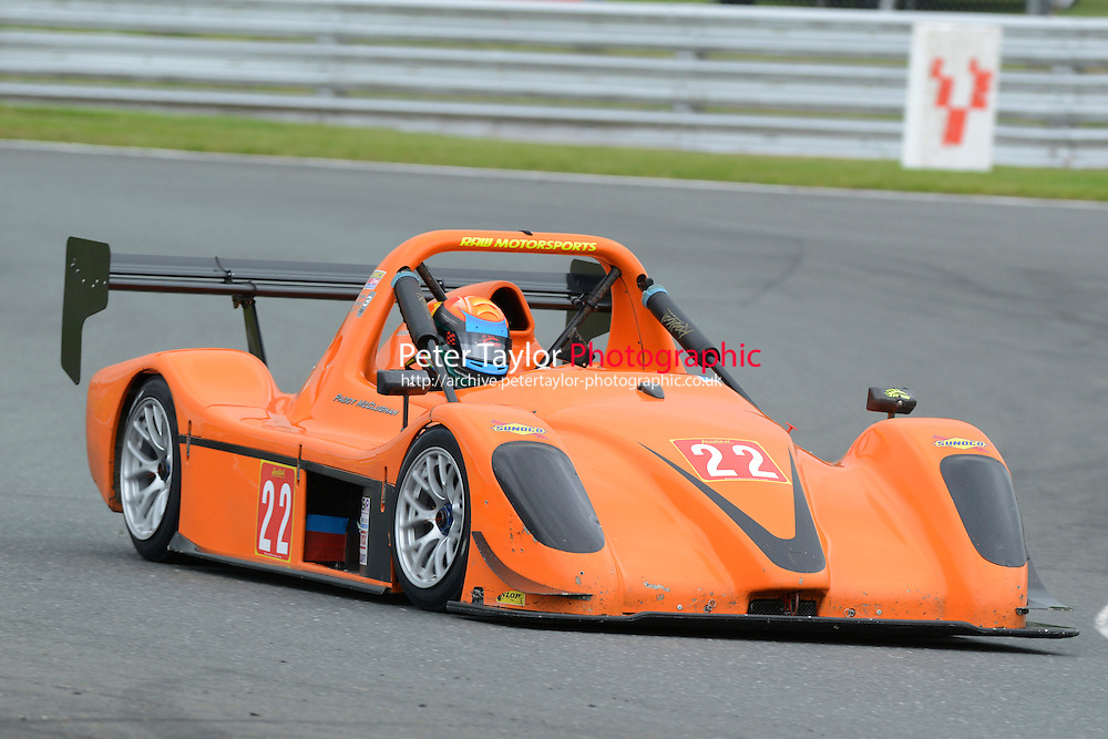 #22 Paddy MCLUGHAN SR3  RS during Radical Sprint Championship as part of the MSVR Oulton Park  20th June 2015 at Oulton Park, Little Budworth, Cheshire, United Kingdom. June 20 2015. World Copyright Taylor/PSP. Copy of publication required for printed pictures.  Every used picture is fee-liable. http://archive.petertaylor-photographic.co.uk
