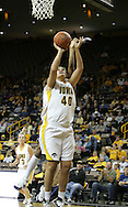 28 NOVEMBER 2007: Iowa center Stacy Schlapkohl (40) puts up a shot in the first half of Georgia Tech's 76-57 win over Iowa in the Big Ten/ACC Challenge at Carver-Hawkeye Arena in Iowa City, Iowa on November 28, 2007.