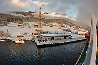 Cargo stop in Torvik. Image taken with a Nikon 1 V2 camera and 10 mm f/2.8 lens.