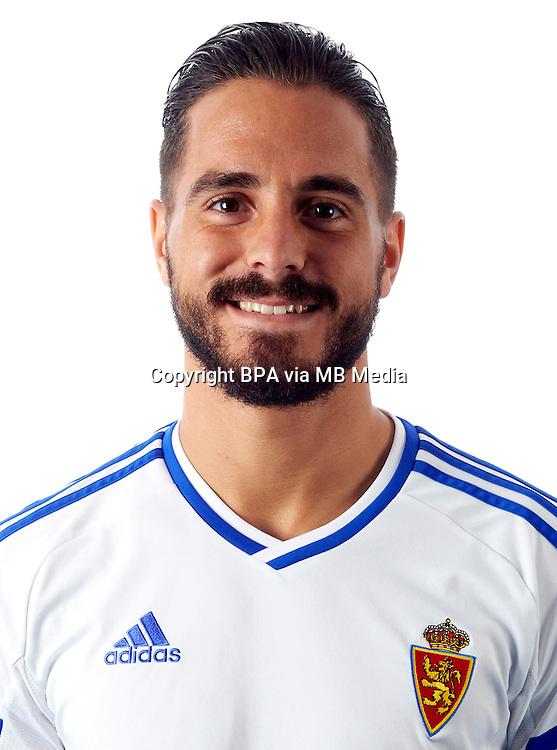 Spain - La Liga B 123 _ 2016-2017 / <br /> ( Real Zaragoza ) - <br /> Javier Ros Anon &quot; Javi Ros &quot;