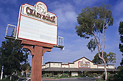 Vintage Photo of the Crazy Horse Steakhouse Restaurant in Santa Ana