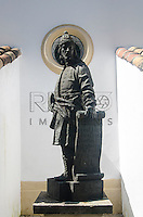 Réplica da escultura do Profeta Joel, de Aleijadinho (1730-1814). Acervo do Museu de Arte Sacra de São Paulo, São Paulo - SP, 02/2013.
