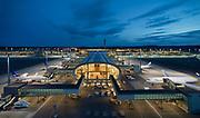 AVINOR/Oslo Lufthavn Gardermoen Pir nord fra lift