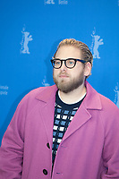 Director, Screenwriter, Producer, Jonah Hill at the photocall for the film Mid90s at the 69th Berlinale International Film Festival, on Sunday 10th February 2019, Hotel Grand Hyatt, Berlin, Germany.
