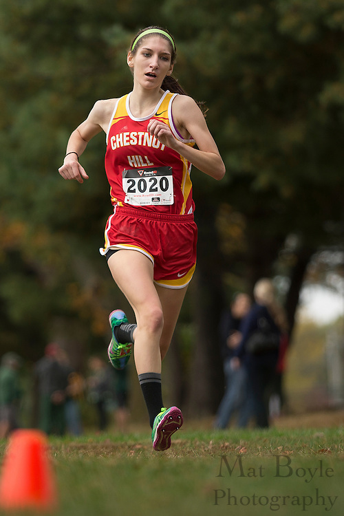 Chestnut Hill College Lauren Sittler - Collegiate Track Conference  Cross-Country Women's Championship at Gloucester County College in Sewell, NJ on Saturday October 19, 2013. (photo / Mat Boyle)