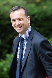 Downing Street, London, July 5th 2016. Welsh Secretary Alun Cairns arrives at 10 Downing Street for the weekly cabinet meeting