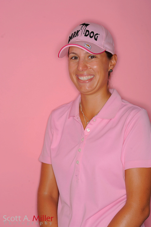 Elisa Serramia during a portrait session prior to the second stage of LPGA Qualifying School at the Plantation Golf and Country Club on Sept. 24, 2011 in Venice, FL...©2011 Scott A. Miller