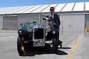 Vintage car show,  Napier, New Zealand. Austin