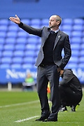 Reading's Manager Steve Clarke during the Sky Bet Championship match between Reading and Charlton Athletic at the Madejski Stadium, Reading, England on 17 October 2015. Photo by Mark Davies.