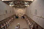 Israel, Beth Gemal, The Salesian Monastery built in 1873, Christmas Mass