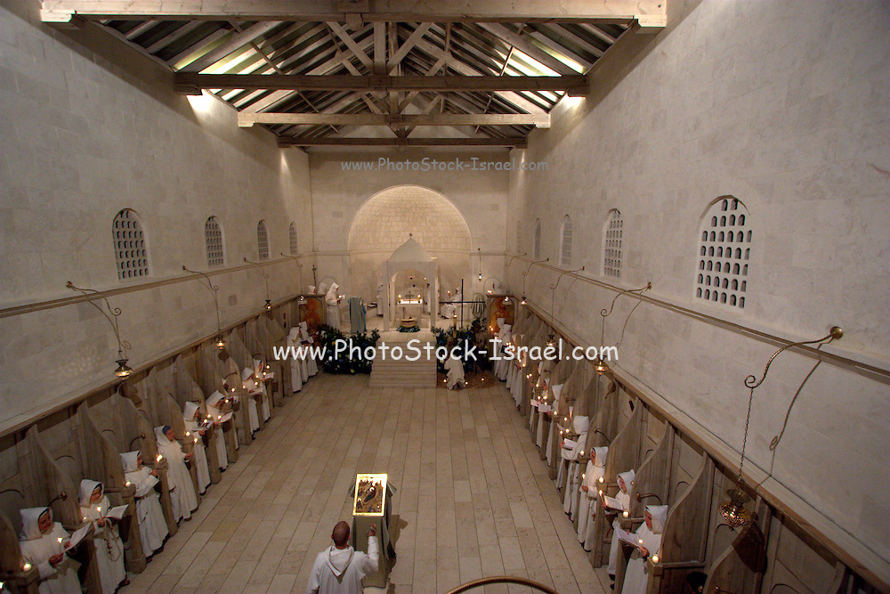 The Salesian Monastery, Christmas Mass | PhotoStock-Israel Licensed