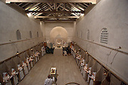 Israel, Beth Gemal, The Salesian Monastery built in 1873, Christmas Mass