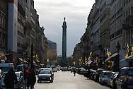 France. Paris 1st district. Rue de la paix