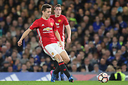 Ander Herrera Midfielder of Manchester United during the The FA Cup quarter-final match between Chelsea and Manchester United at Stamford Bridge, London, England on 13 March 2017. Photo by Phil Duncan.