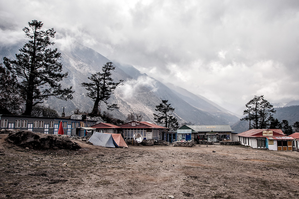 NEPAL. Everest Region, Tengboche. May 18th, 2012. Thyangboche Guesthouse.