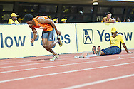 PRETORIA. SOUTH AFRICA: Thursday 5 April 2012, Thapelo Ketlogetswe during the Yellow Pages Inter-club athletic meeting held at the ABSA-Tuks stadium, Tshwane. .Photo by : ImageSA