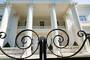 Villa Marguerita Italian Renaissance Revival style home on South Battery in historic Charleston, SC.