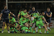Cobus Reinach during the Aviva Premiership match between Sale Sharks and Northampton Saints at the AJ Bell Stadium, Eccles, United Kingdom on 25 November 2017. Photo by George Franks.