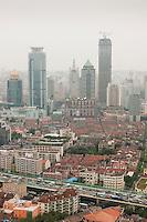 Humid skies hang over Shanghai China