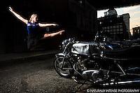Motorcycle & The Ballerina. Dance As Art featuring Taylor Gerrasch