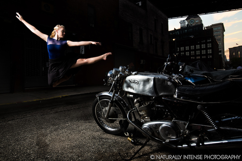 Motorcycle & The Ballerina. Dance As Art featuring Taylor Gerrasch