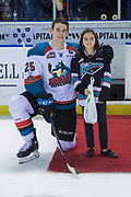 KELOWNA, CANADA - MARCH 14:  First Star of the Game Cal Foote #25 of the Kelowna Rockets at the Kelowna Rockets game on March 14, 2018 at Prospera Place in Kelowna, British Columbia, Canada.  (Photo By Cindy Rogers/Nyasa Photography,  *** Local Caption ***
